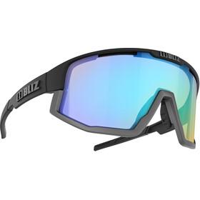 Bliz Vision Nano Optics Nordic Light Glasses, black/coral with blue multi
